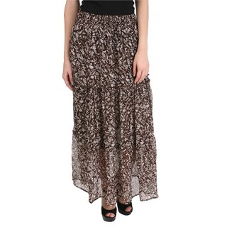 Mansi Collections Printed A-line Skirt