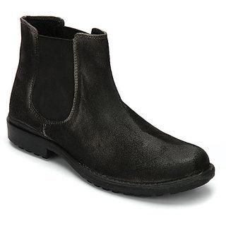 Delize Men's Grey Boots Option 1
