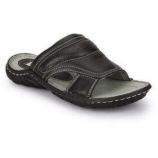 Delize Men's Black Slipers Option 3