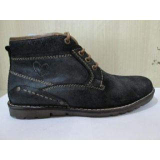 Delize Men's Black Ankle Boots Option 1