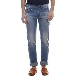 Swizz Mens Light Blue Slim Fit Stylish Jeans