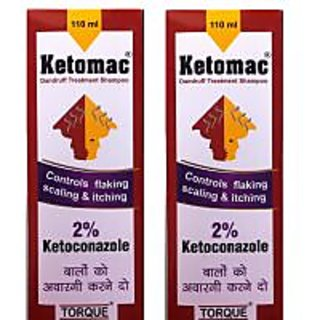 Ketomac Anti- Dandruff Shampoo pack of 2