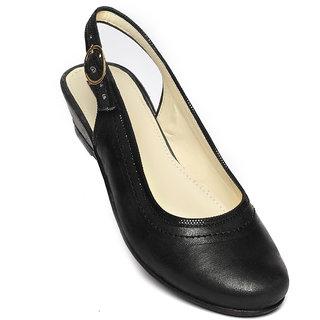 Schtaron Formal Black Ballerinas