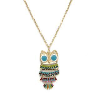 Salt Wise Owl Necklace