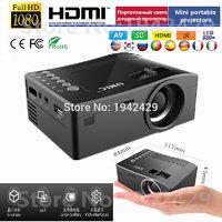 UC18 HD 1080P Mini Projector Mini Led Projector Portabl