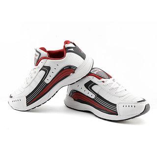 da533aa0a Buy Lancer Mens Black   Maroon Running Shoes Online - Get 8% Off