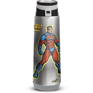 Milton Kool Zone 650Ml Insulated Plastic Bottle - Grey