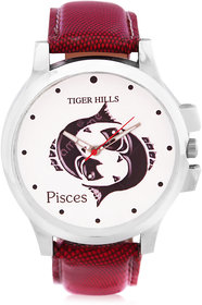 Tigerhills Zodiac Collection Pisces Red