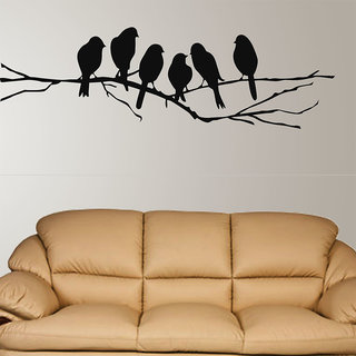 Pack Of 1 PVC Multicolor Wall Stickers by New way