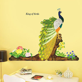 New Way Pvc Multicolor National Bird Wall Stickers No. Of Pieces 1