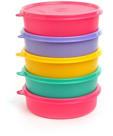 Tupperware Handy Multicolour 500 ML (Each) Bowl - Set of 4