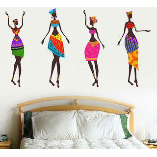 African National Dance Wall Sticker@ New Way Decals 7501