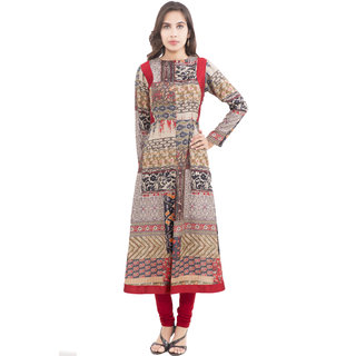 Dessara Multi Color Cotton Kurti