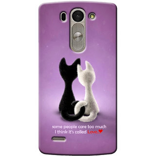 G.Store Hard Back Case Cover For Lg G3 Beat 14943