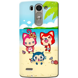 G.Store Hard Back Case Cover For Lg G3 Beat 14945