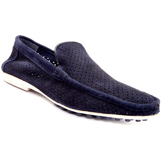 Sole Strings Mens Blue Casual Shoes (LUESL-9090BLM00)