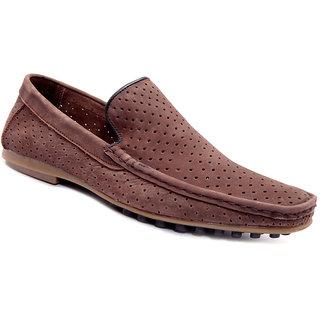 Sole Strings Mens Brown Casual Shoes (LUESL-9090BRM00)