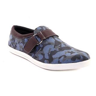 Sole Strings Mens Blue Casual Shoes (SOLSARM020BLM00)