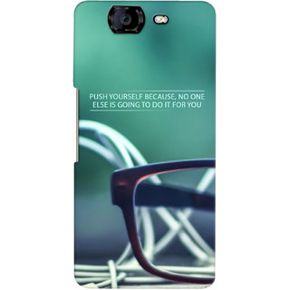 G.Store Hard Back Case Cover For Micromax Canvas Knight A350 15708
