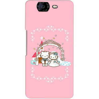 G.Store Hard Back Case Cover For Micromax Canvas Knight A350 15744