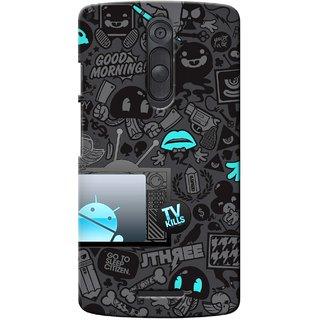 G.Store Hard Back Case Cover For Motorola Moto X3 17125