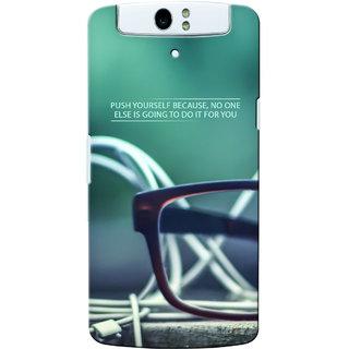 G.Store Hard Back Case Cover For Oppo N1 18008