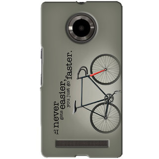 G.Store Hard Back Case Cover For Micromax Yu Yuphoria 16211