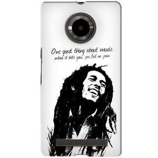 G.Store Hard Back Case Cover For Micromax Yu Yuphoria 16261