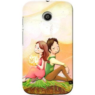 G.Store Hard Back Case Cover For Motorola Moto E 16450