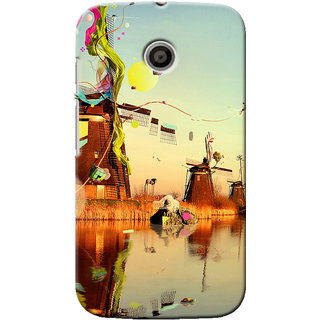G.Store Hard Back Case Cover For Motorola Moto E 16462