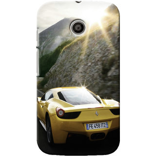 G.Store Hard Back Case Cover For Motorola Moto E 16500