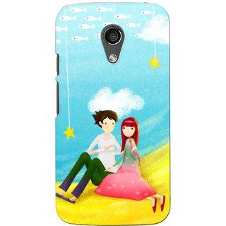 G.Store Hard Back Case Cover For Motorola Moto G2 16754