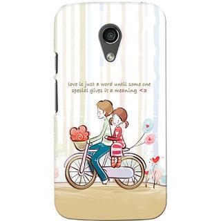 G.Store Hard Back Case Cover For Motorola Moto G2 16755