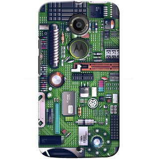 G.Store Hard Back Case Cover For Motorola Moto X2 17068