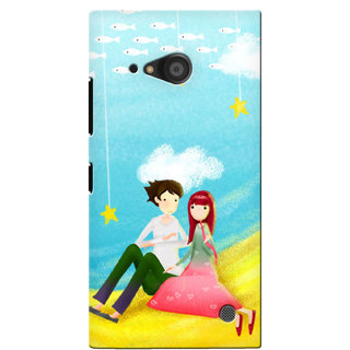G.Store Hard Back Case Cover For Nokia Lumia 735 17554