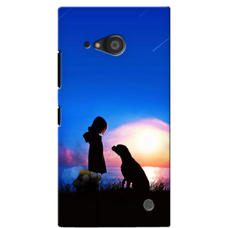 G.Store Hard Back Case Cover For Nokia Lumia 735 17566
