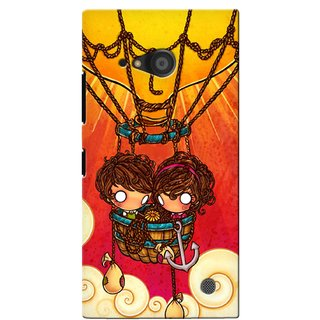 G.Store Hard Back Case Cover For Nokia Lumia 735 17567