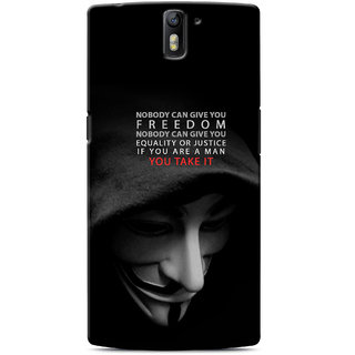 G.Store Hard Back Case Cover For Oneplus One 17602
