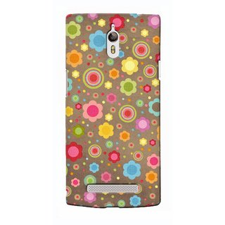 G.Store Hard Back Case Cover For Oppo Find 7 17836