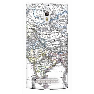 G.Store Hard Back Case Cover For Oppo Find 7 17838