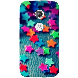 G.Store Hard Back Case Cover For Motorola Moto E2 16505