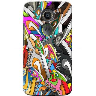 G.Store Hard Back Case Cover For Motorola Moto X2 17073