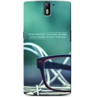 G.Store Hard Back Case Cover For Oneplus One 17608