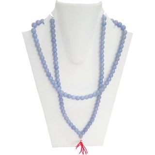 Handmade Blue Moti Mala