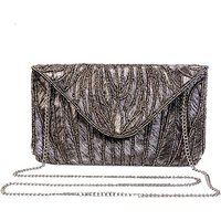 Diwaah Women Evening/Party Silver Cotton Sling Bag SLBEBEYZSRZQZU6Y