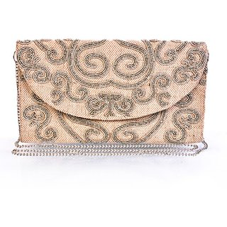 Diwaah Women Party White Canvas  Clutch CLTEFXXQ7D68EBHH