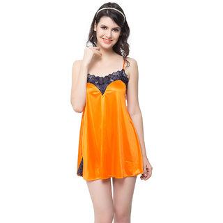 Sexy Babydoll In Dark Orange  (NS0448P16)