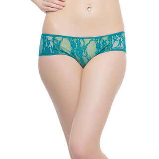 Lacy Brief In Turquoise  (PN0116Q47)