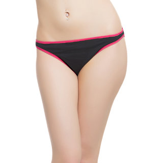Cotton Brief With Pink Highlight  (PN0161H14)