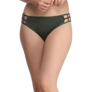 Bond Girl Panty In Dark Green  (PN0331P17)